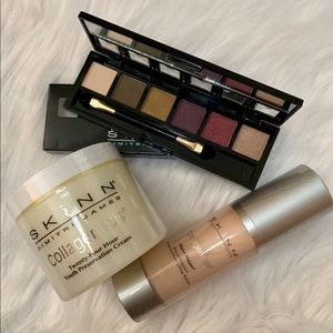 SKINN BY DIMITRI JAMES 3PC SKINCARE/EYESHADOW SET